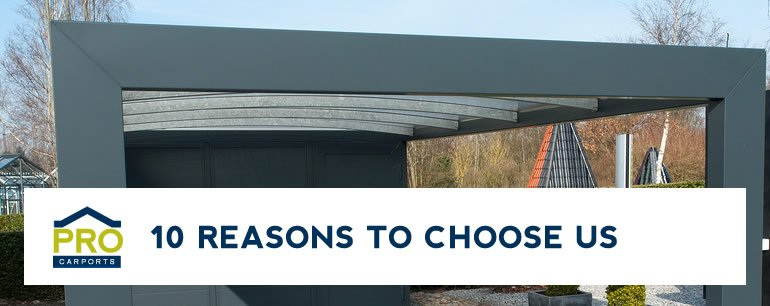 10 Reasons To Choose Pro Carports Brisbane