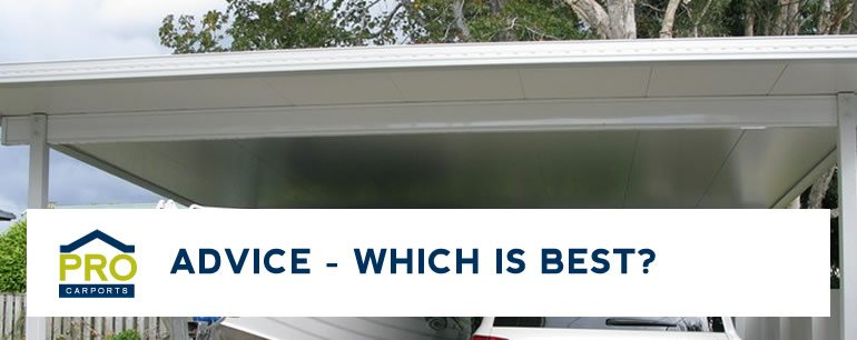 Carport and Patio Roofing Brisbane Advice