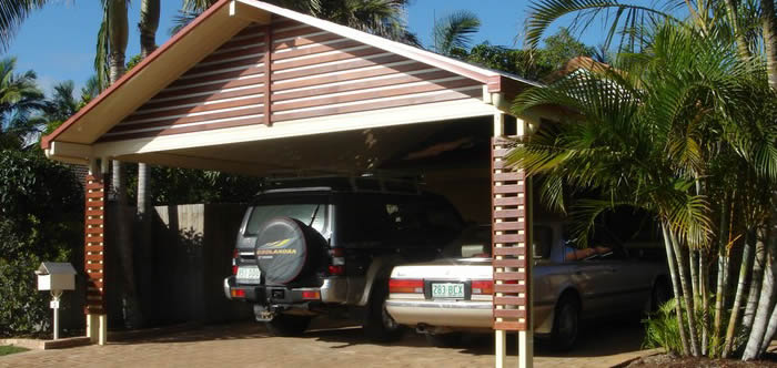 Gable Roof Carport