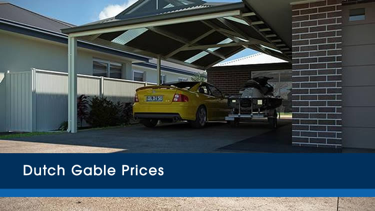 Dutch Gable Carport Prices