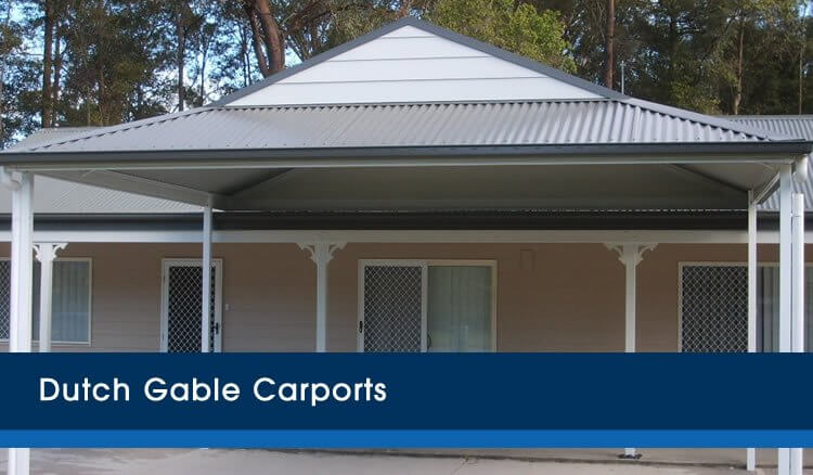 Dutch Gable Carports